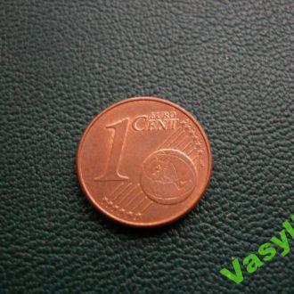 Австрия 1 евро цент 2010 г. UNC!
