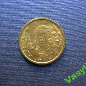 Италия 10 евро центов 2002 г UNC!!!