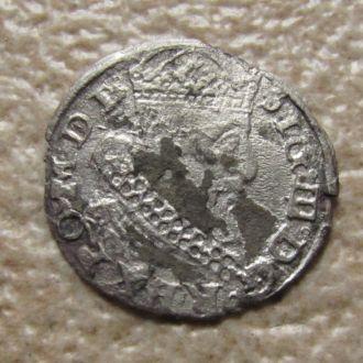 грош 1626 г.   grosz litewski R4