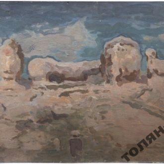 картина труш крымский пейзаж