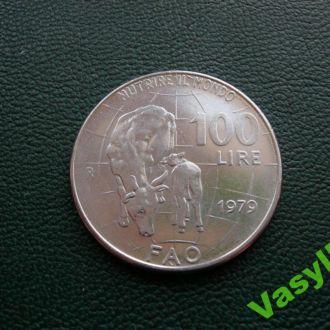 Италия 100 лир 1979 г. Сохран!!!