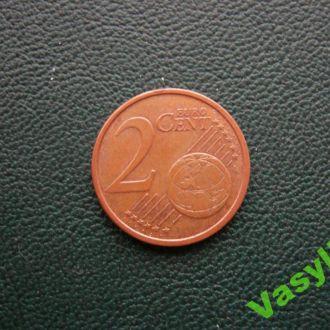Италия 2 евро цента 2005 г. Сохран!!!