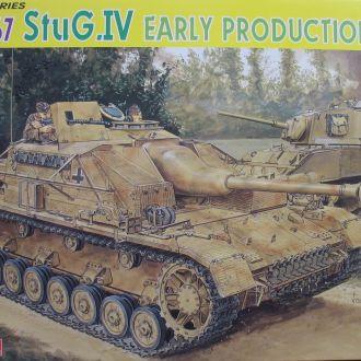 Stug IV ранняя 1:35 Dragon 6520 Сборная модель