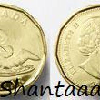 Shantaaal, Канада 1 доллар 2014, Олимпийская утка