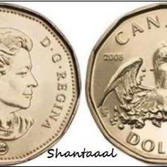 Shantaaal, Канада 1 доллар Олимпийская утка, 2008