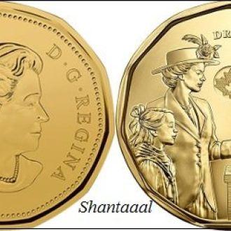 Shantaaal, Канада 1 доллар 2016 Права женщин