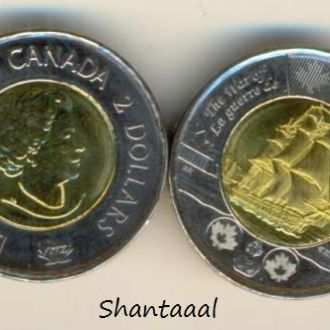 Shantaaal, Канада 2 доллара Парусник, 2012 год UNC