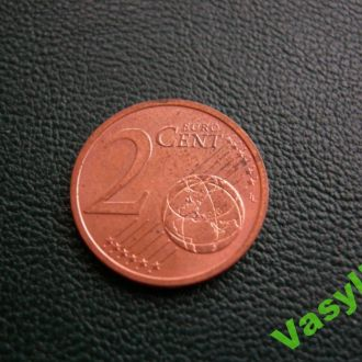 Германия 2 евро цента 2007 A UNC!