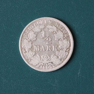 1/2 марки 1905