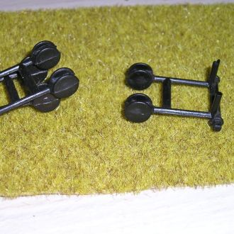 Зил 130 Одаз -стояночные колеса к прицепу