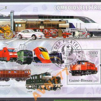Гвинея-Бисау 2006 жд локомотив поезд паровоз блок
