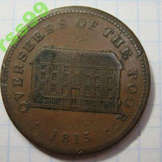 АНГЛИЯ SHEFFIELD 1 пенни 1815 года РЕДКАЯ!!!