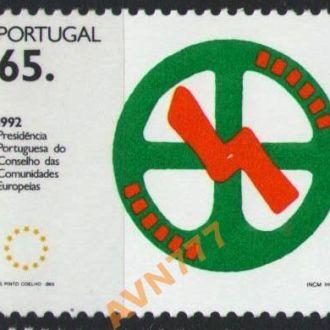Португалия 1992 Живопись Европа колесо серия MNH
