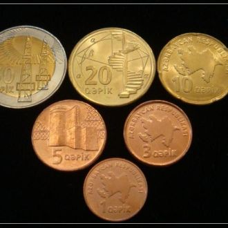 Shantaaal,Набор монет Азербайджан (6 монет)
