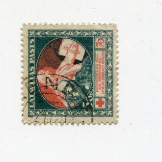 ЛАТВИЯ 1920 МЕДИЦИНА КРАСНЫЙ КРЕСТ