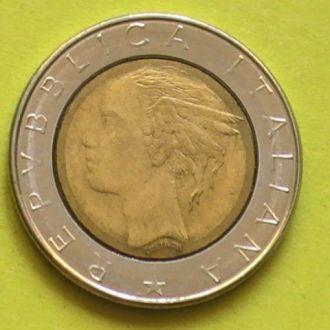 500 Лир 1982 г Италия 500 Лір 1982 р Італія