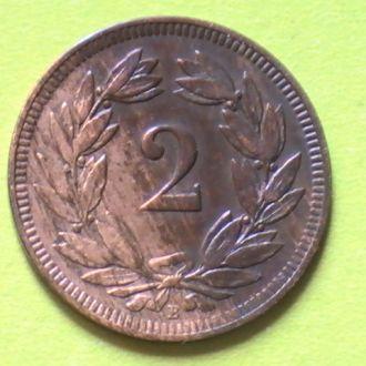 2 Раппена 1918 г Швейцария 2 Рапена Швейцарія