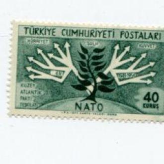 ТУРЦИЯ 1954 НАТО КАРТА ГЕОГРАФИЯ МАТЕРИК