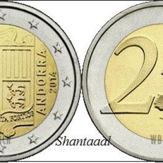 Shantaaal, Андорра 2 евро 2014 г