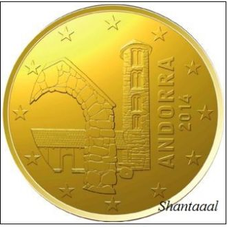 Shantaaal, Андорра 20 центов 2014 г