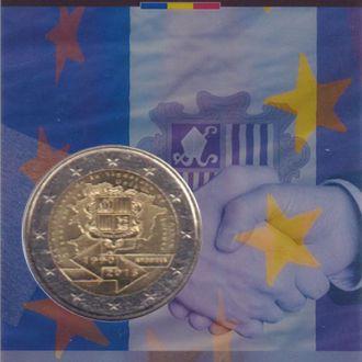 Андорра Таможенное согл 2 евро 2015-2016