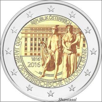 Shantaaal, Австрия 2 евро 2016 Национальный банк