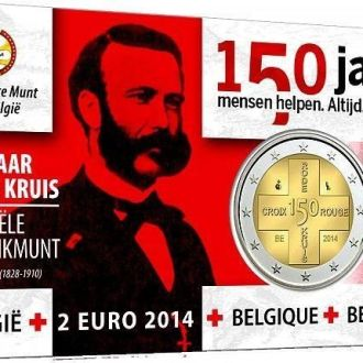 Shantaaal, Бельгия 2 евро 2014, Красный крест