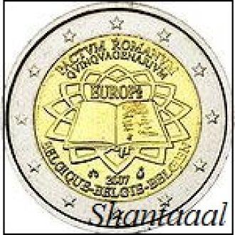 Shantaal, Бельгия 2 Евро 2007, Римский договор