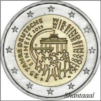 Shantaal, Германия 2 Евро Объединение 2015 г