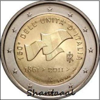 Shantaal, Италия 2 Евро Рисорджименто 2011