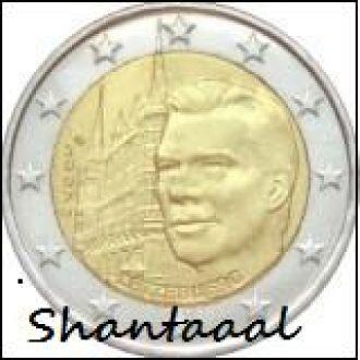 Shantаal, Люксембург 2 Евро Дворец герцогов 2007