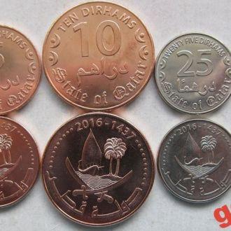 КАТАР  (2016)- набор монет 5 шт UNC