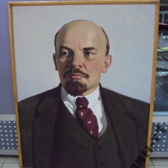 картина портрет ленин фондовский