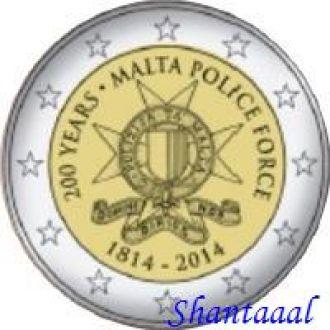 Shantаal, Мальта 2 Евро 2014, 200 лет полиции