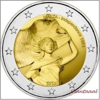 Shantаal, Мальта 2 Евро Независимость 2014