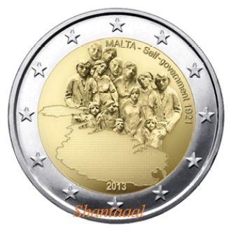 Shantаal, Мальта 2 Евро Правительство 2013 г