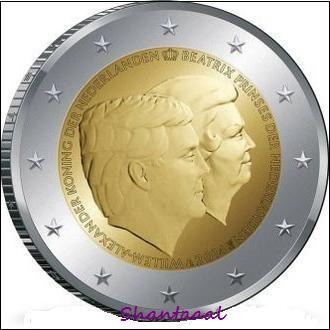 Shantаl, Нидерланды 2 евро 2014, Двойной портрет