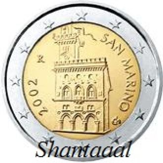 Shantаal, Сан-Марино 2 Евро 2011 (оборотные)