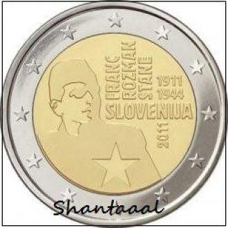 Shantaaal, Словения 2 Евро 2011, Ф. Розман