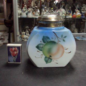 чайница (№ 874) банка для чая стекло