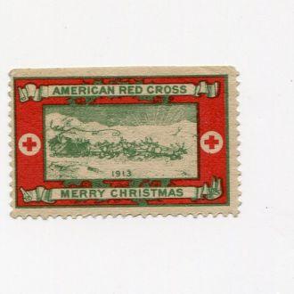 США 1913 МЕДИЦИНА КРАСНЫЙ КРЕСТ НОВЫЙ ГОД