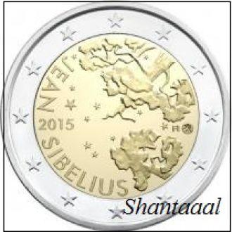 Shantаal, Финляндия 2 Евро Ян Сибелиус 2015