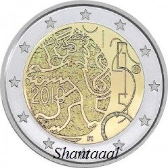 Shantаal, Финляндия 2 Евро Валютный декрет 2010