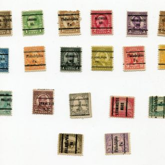 США 1922 ГАШЕНИЯ