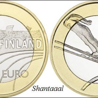 Shantal,Финляндия 5 Евро Прыжки с трампл 2016