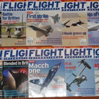 Flight international 2006. 10 журналов. авиация