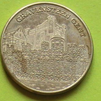 Жетон монета 2010 г Гент Бельгия