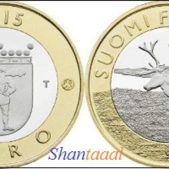 Shantаal, Финляндия 5 Евро Олень 2015