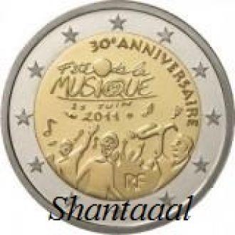 Shantаal, Франция 2 Евро День музыки 2011