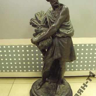 древнегреческий античный жнец шпиатр покрытие брон